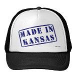 Hecho en Kansas Gorras De Camionero