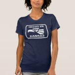 Hecho en Kansas personalizado custom personalized T-shirts