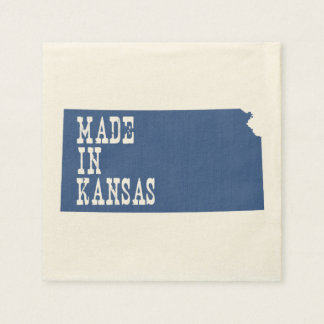 Hecho en Kansas Servilletas Desechables