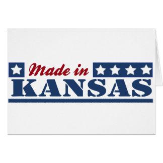 Hecho en Kansas Tarjeta