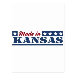 Hecho en Kansas Tarjetas Postales