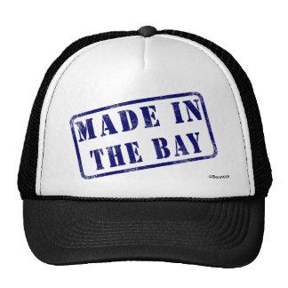 Hecho en la bahía gorras