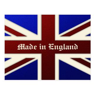 Hecho en la bandera metálica de Inglaterra Union J Postal