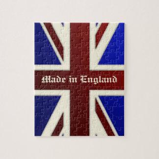 Hecho en la bandera metálica de Inglaterra Union J Rompecabeza Con Fotos