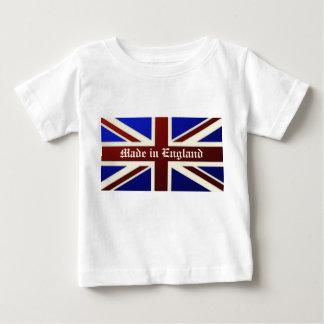 Hecho en la bandera metálica de Inglaterra Union Remeras
