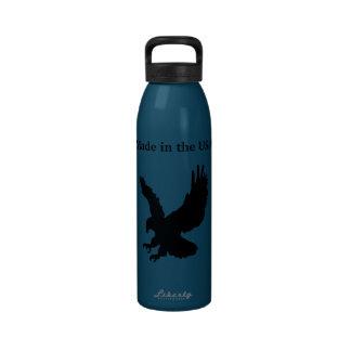 Hecho en la botella de la libertad de los E.E.U.U. Botella De Agua