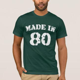 Hecho en la camisa 80