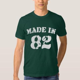 Hecho en la camisa 82