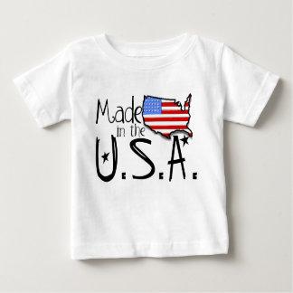 Hecho en la camisa de los E.E.U.U.