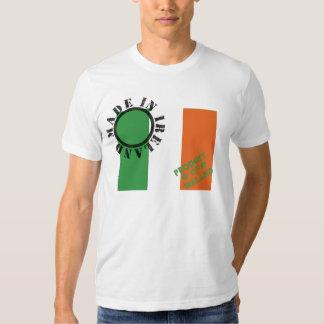 Hecho en la camiseta de Irlanda Poleras