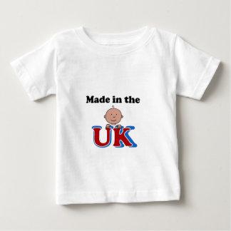 hecho en la camiseta infantil británica