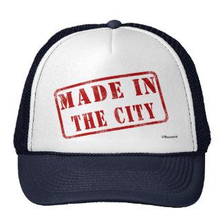 Hecho en la ciudad gorras