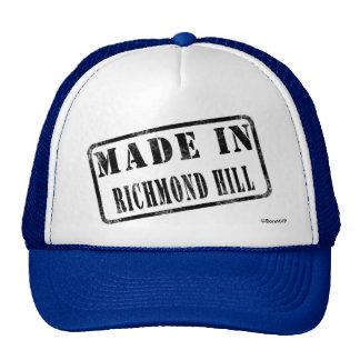 Hecho en la colina de Richmond Gorras