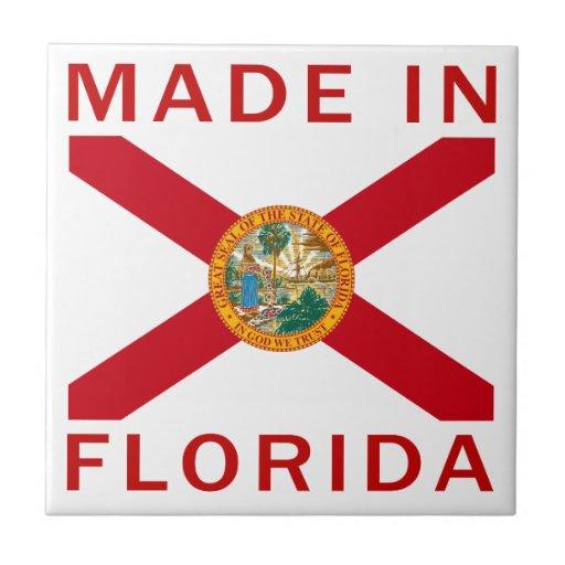 Hecho en la Florida Azulejo Ceramica