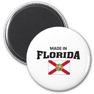 Hecho en la Florida Imán Redondo 5 Cm