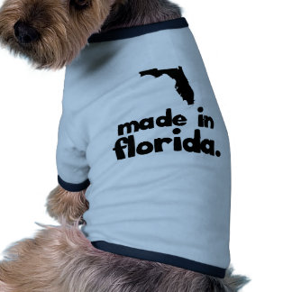 Hecho en la Florida Ropa De Mascota