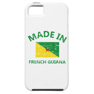 Hecho en la Guayana Francesa iPhone 5 Funda