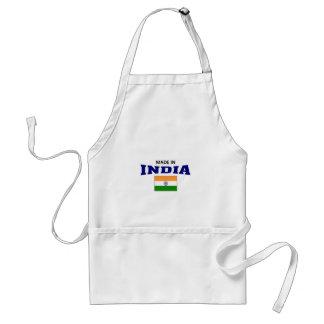 Hecho en la India Delantal