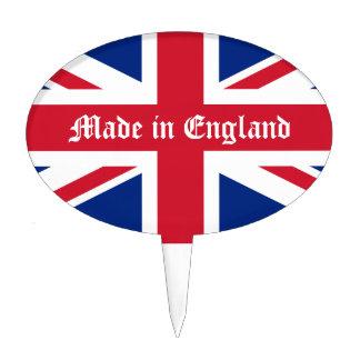Hecho en la Inglaterra-Unión Jack Figura Para Tarta
