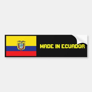 HECHO EN la pegatina para el parachoques de ECUADO Pegatina Para Auto
