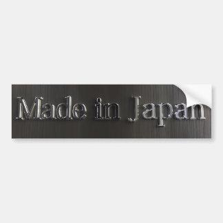 Hecho en la pegatina para el parachoques de Japón Pegatina De Parachoque