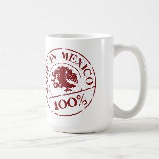 hecho en la taza de MÉXICO