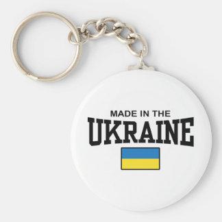 Hecho en la Ucrania Llavero Personalizado