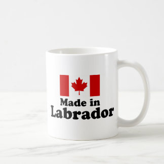 Hecho en Labrador Taza Clásica