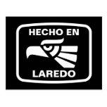 Hecho en Laredo personalizado custom personalized Post Cards
