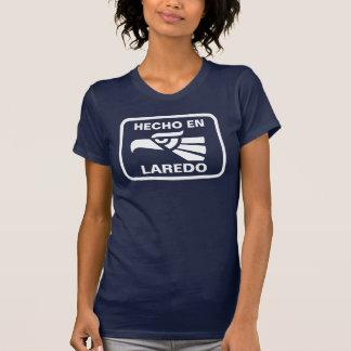 Hecho en Laredo personalizado custom personalized Tshirt