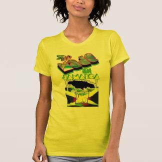 hecho en las mujeres 2 de Jamaica Camisetas