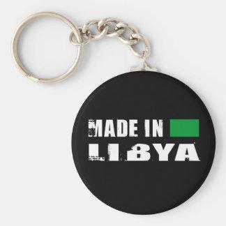 Hecho en Libia Llavero Redondo Tipo Pin