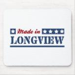 Hecho en Longview TX Alfombrilla De Raton