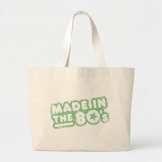 Hecho en los años 80 bolsas