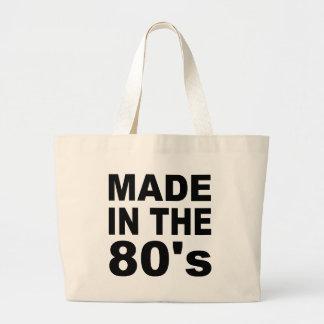 Hecho en los años 80 - cumpleaños bolsas de mano