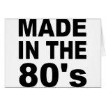 Hecho en los años 80 - cumpleaños felicitación