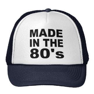 Hecho en los años 80 - cumpleaños gorro de camionero