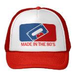 Hecho en los años 80 gorro de camionero