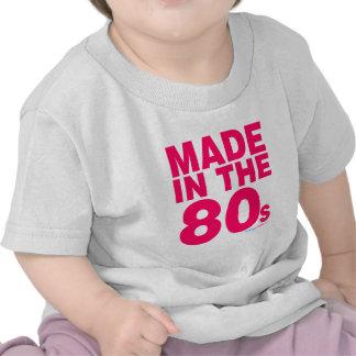 Hecho en los años 80 camisetas