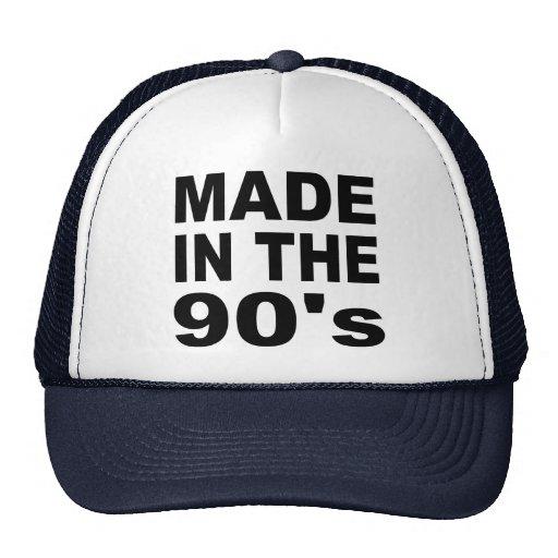 Hecho en los años 90 - cumpleaños gorra