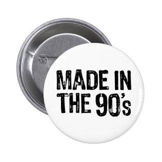 Hecho en los años 90 pin