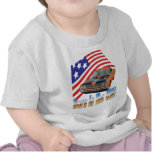 Hecho en los correcaminos de los E.E.U.U. Camisetas