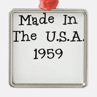 Hecho en los E E U U 1959 png Ornamento De Navidad