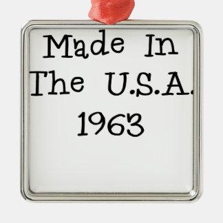Hecho en los E E U U 1963 png Ornatos
