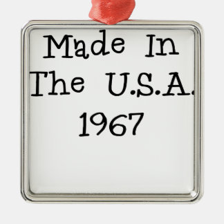 Hecho en los E E U U 1967 png Adornos De Navidad