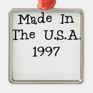 Hecho en los E E U U 1997 png Adorno De Navidad