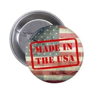 ¡Hecho en los E.E.U.U.! Botón Pin Redondo De 2 Pulgadas