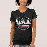 """Hecho en… los """"E.E.U.U. """" Camisetas"""