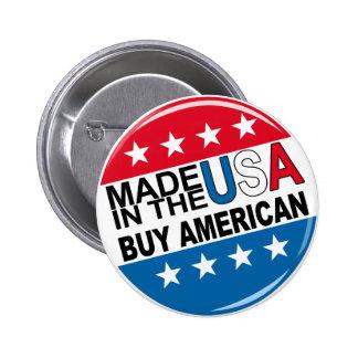 Hecho en los E.E.U.U. - compre al americano Pin Redondo De 2 Pulgadas