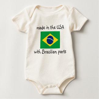 hecho en los E.E.U.U. con el brasilen@o parte la Body Para Bebé